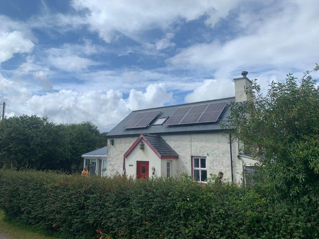 Solar Panels Cork House fitted